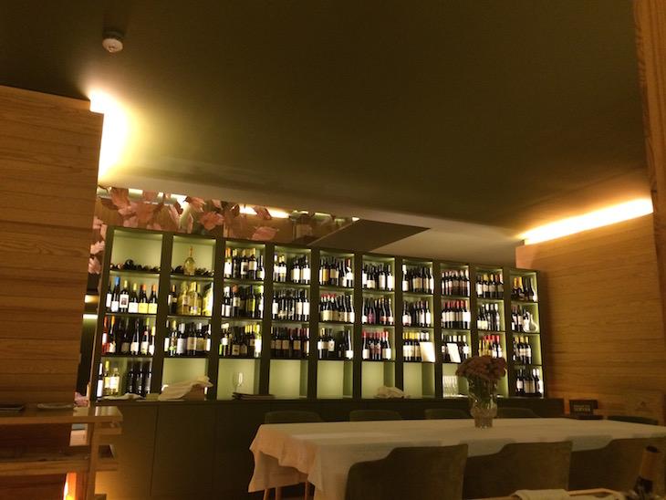 Vinhos no Restaurante do Monverde - Wine Experience Hotel © Viaje Comigo