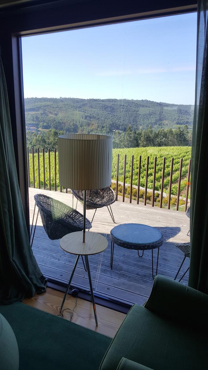 Vista da sala no Monverde - Wine Experience Hotel © Viaje Comigo