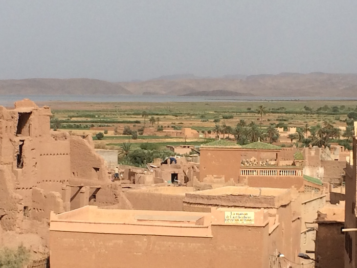 Vista do Casbá Taourirt, Ouarzazate © Viaje Comigo