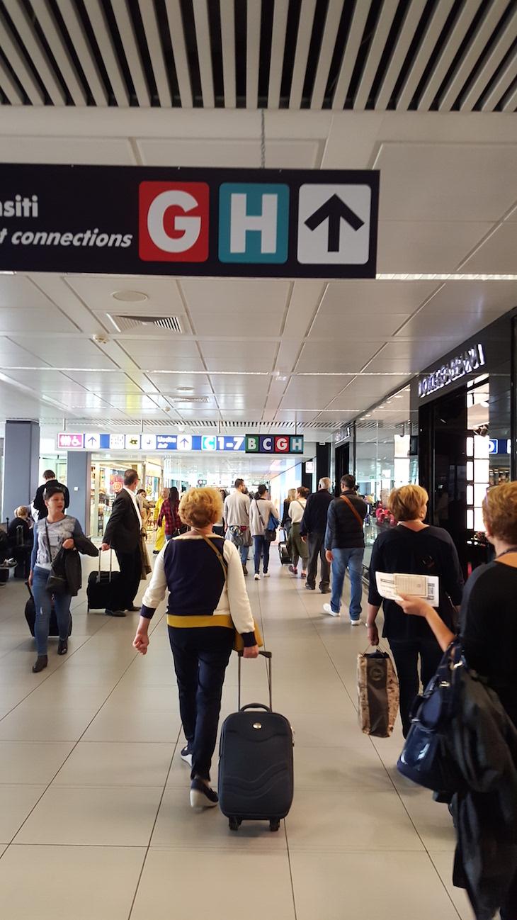 Aeroporto Fiumicino, Roma © Viaje Comigo