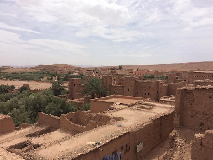 Vista da casa berbere em Ait-Ben-Haddou © Viaje Comigo
