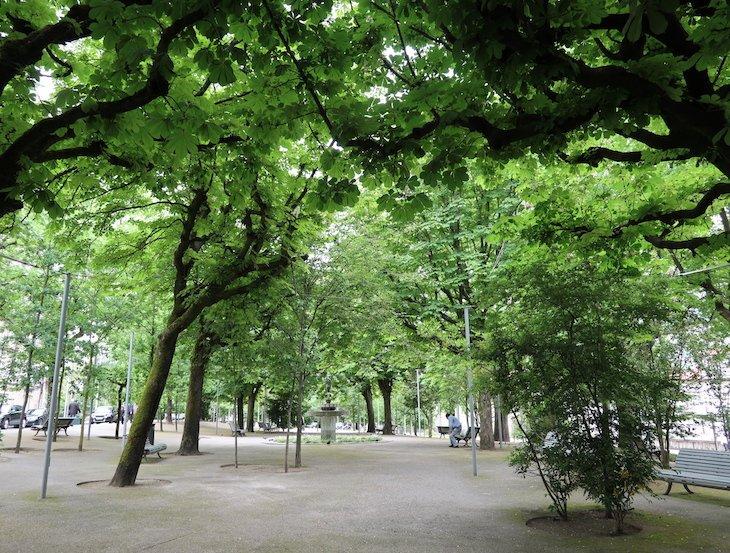 Jardim da Alameda, Guimarães - Portugal© Viaje Comigo