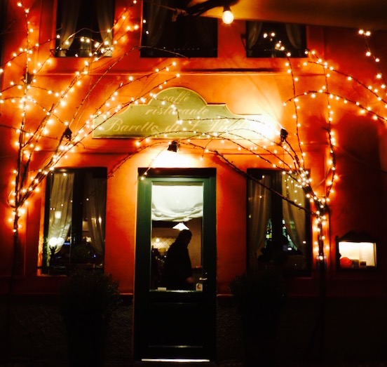 Fachada do Restaurante Barreto, Bergamo © Viaje Comigo