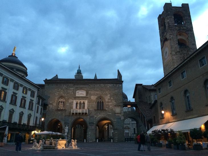 Bergamo, Piazza Vecchia © Viaje Comigo