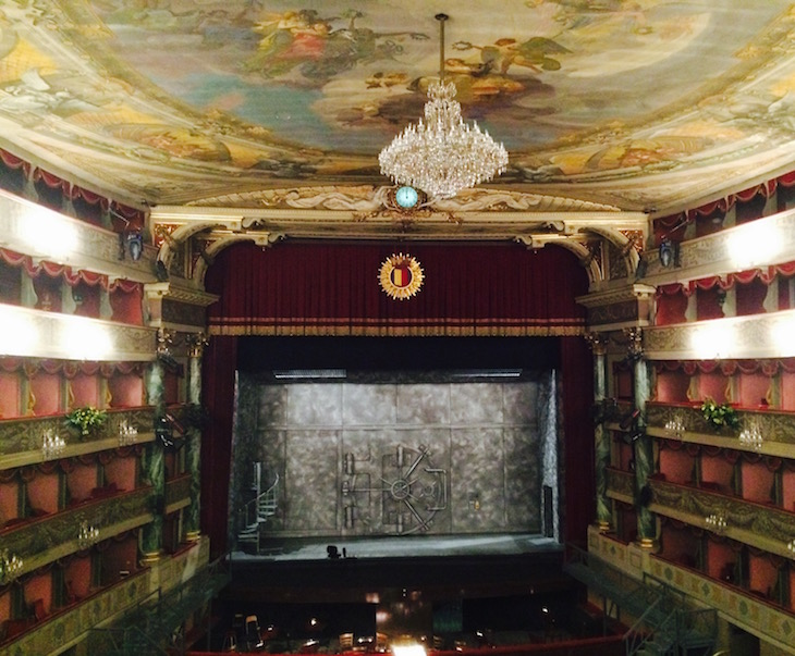 Bergamo Teatro Donizetti © Viaje Comigo
