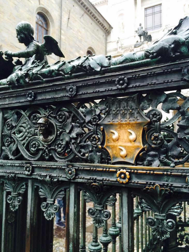Bergamo, pormenores da capela @ Viaje Comigo