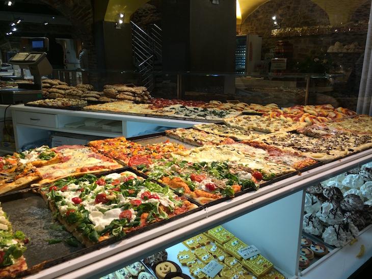 Bergamo pizzas © Viaje Comigo