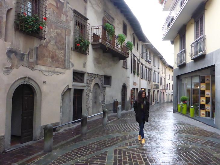 Bergamo ruas de Clusone © Viaje Comigo