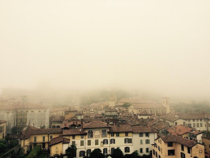 Bergamo, vistas da Torre Cívica @ Viaje Comigo