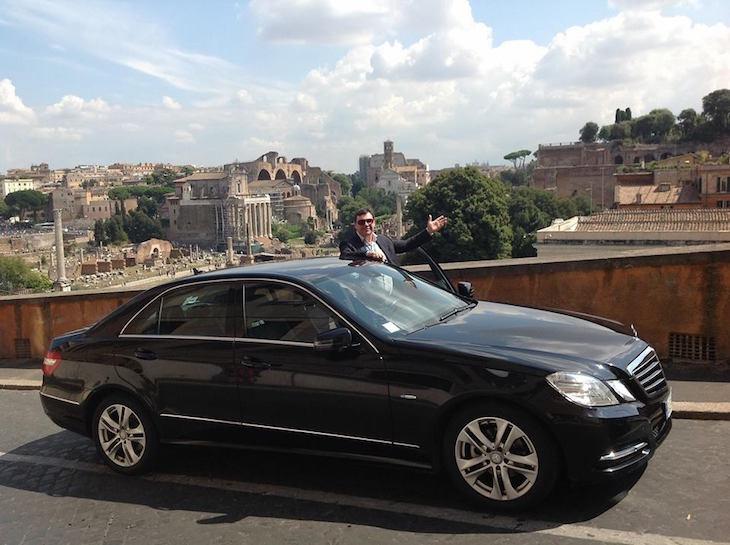 Carlos Moglie da Elmocar em Roma