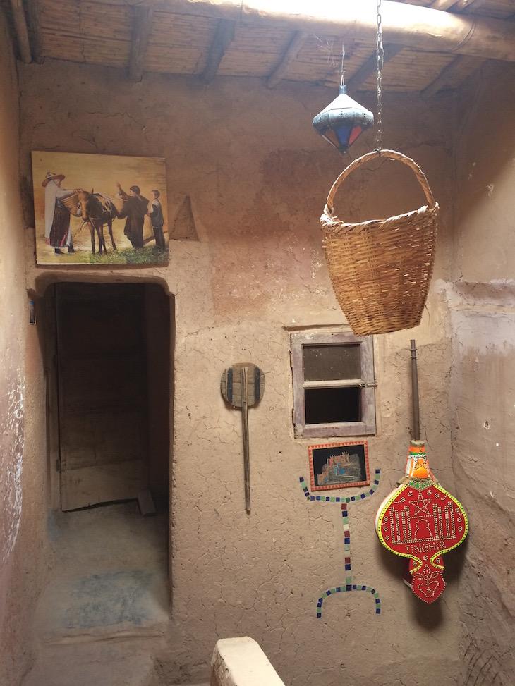 Decoração da Casa Berbere, Ben Haddou, Marrocos © Viaje Comigo