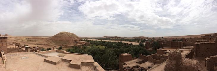 Do terraço da Casa Berbere, Ben Haddou, Marrocos © Viaje Comigo