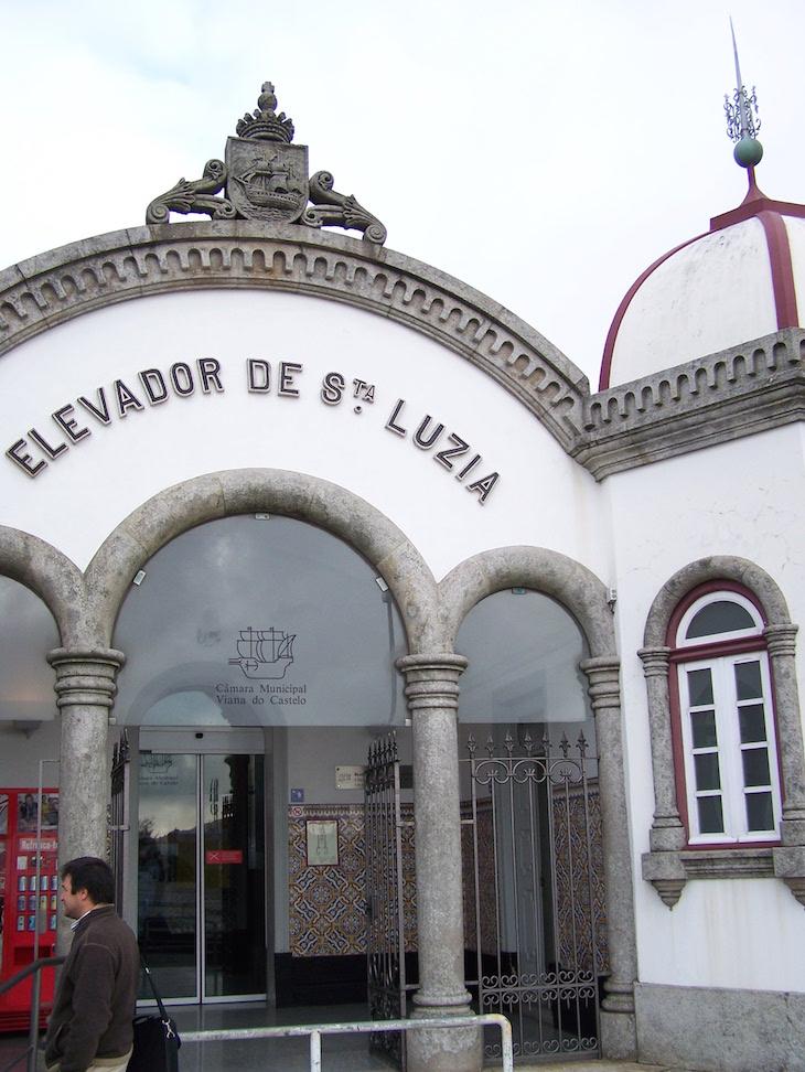 Elevador de Santa Luzia, Viana do Castelo © Viaje Comigo