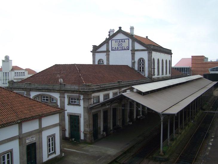 Estação de comboios, Viana do Castelo © Viaje Comigo