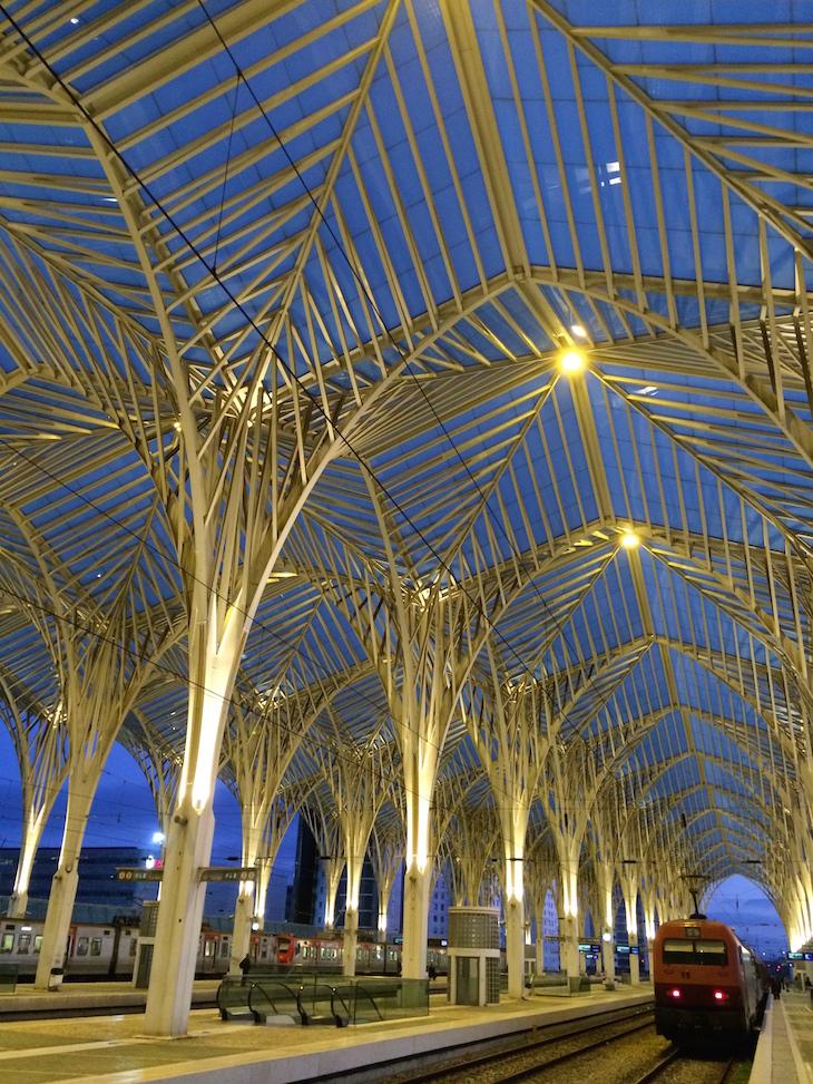 Estação do Oriente Lisboa © Viaje Comigo