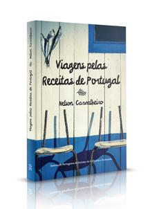 """Livro """"Viagens pelas Receitas de Portugal"""""""