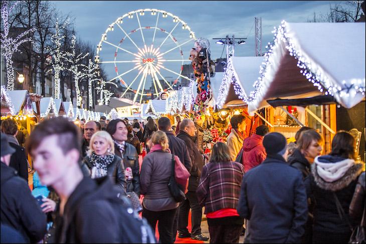 Mercado de Natal em Bruxelas DR