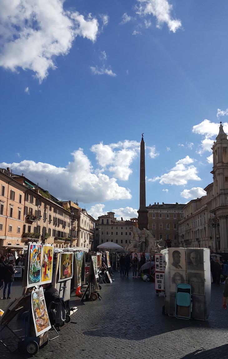 Piazza Navona, Roma ©Viaje Comigo