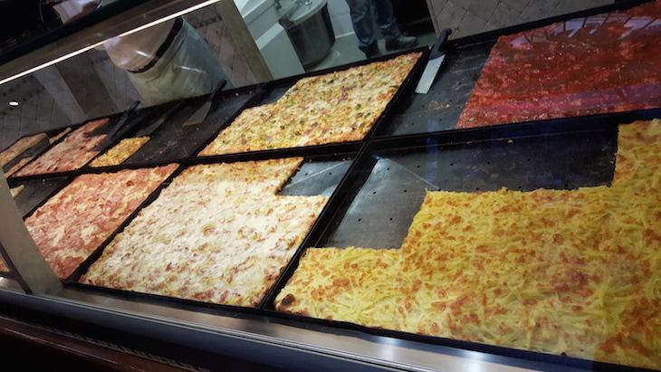 Pizzas no Supllì, Trastevere Food Tour,Roma © Viaje Comigo