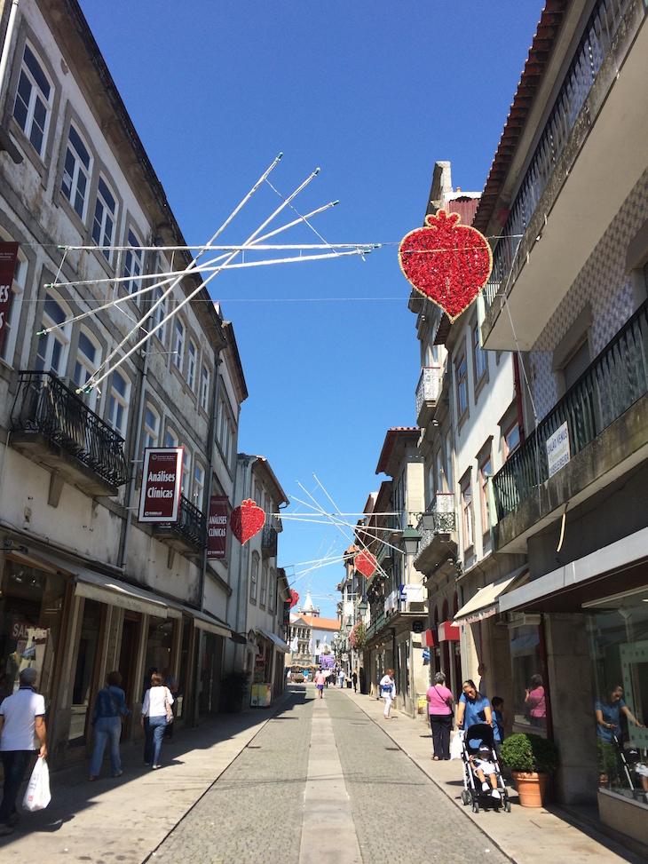 Ruas do centro de Viana do Castelo © Viaje Comigo