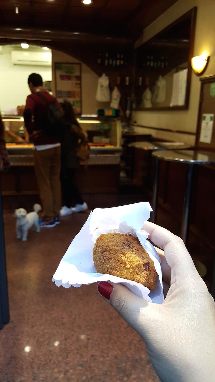 Supllì, Trastevere Food Tour,Roma © Viaje Comigo