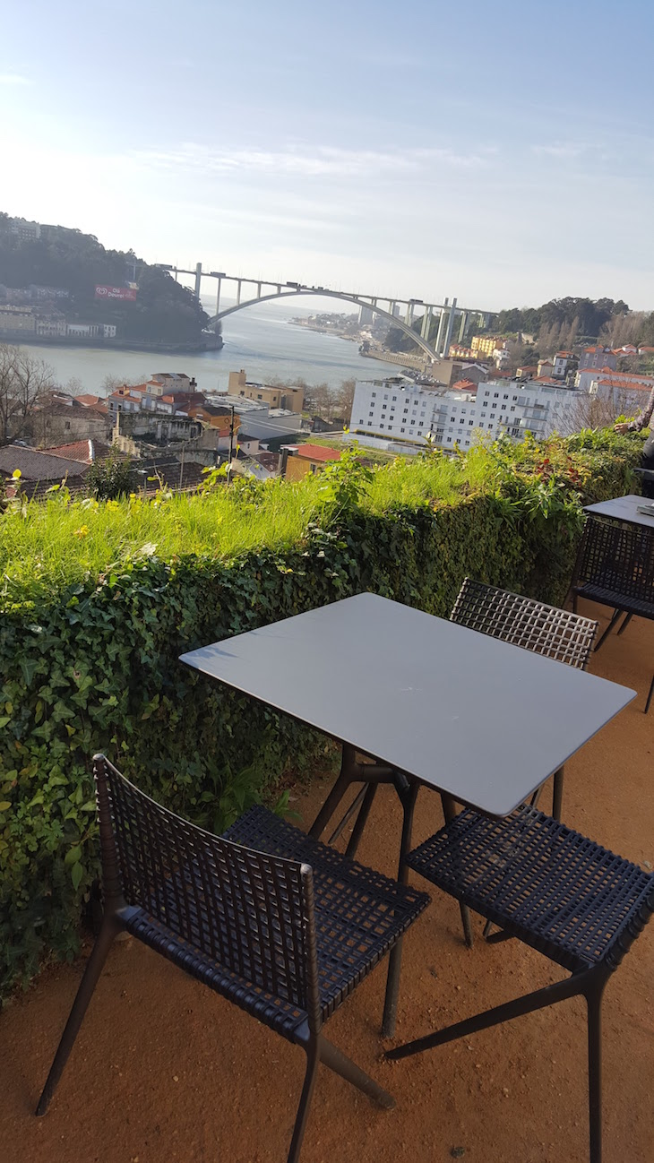 Vista do Restaurante Antiqvvm, Porto © Viaje Comigo