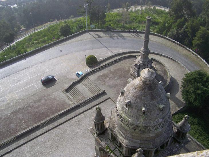 Visto do Zimbório do Santuário de Santa Luzia, Viana do Castelo © Viaje Comigo