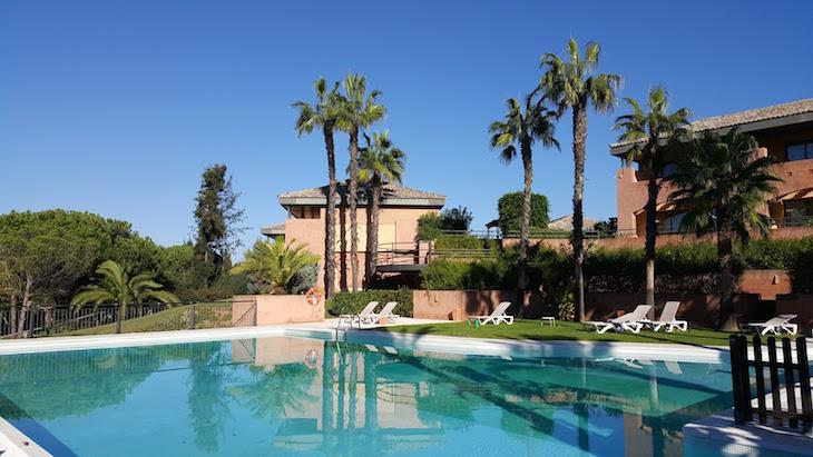 Piscina Islantilla Golf Resort, Huelva © Viaje Comigo