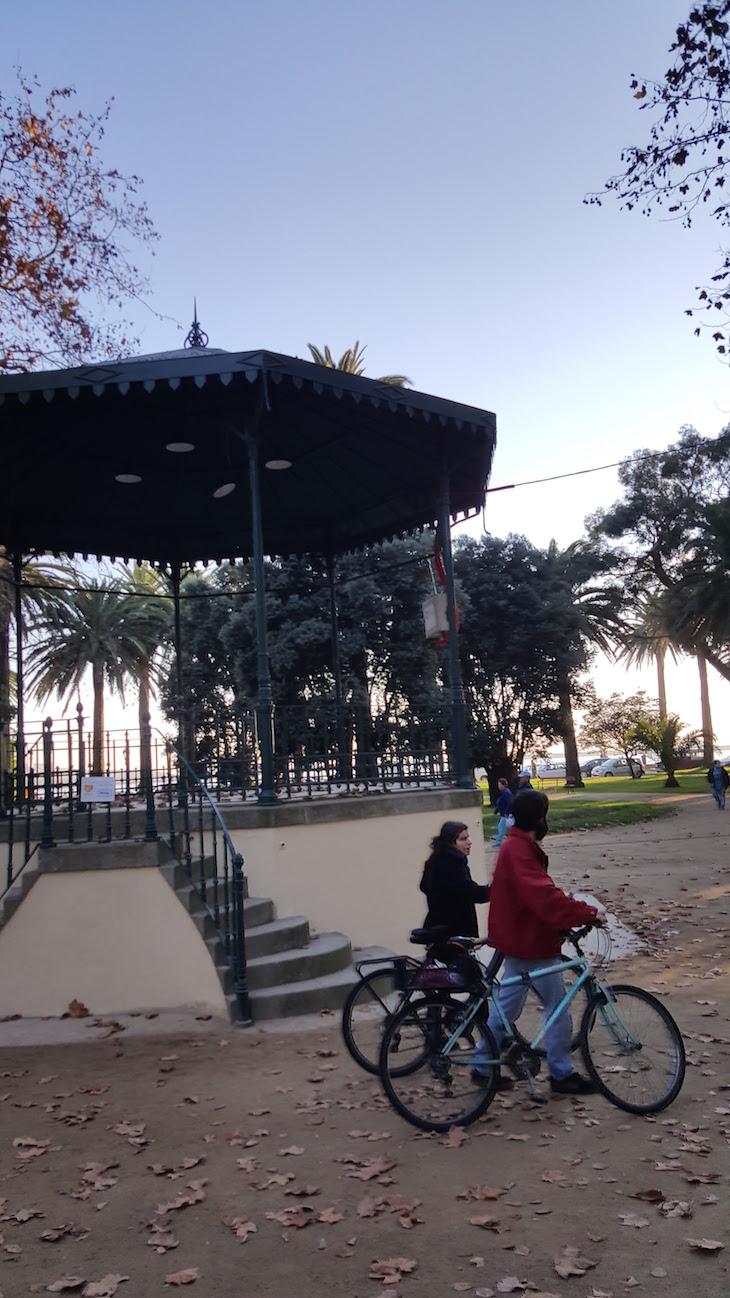 Coreto no Jardim do Passeio Alegre © Viaje Comigo