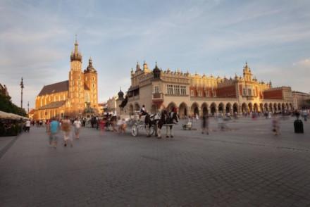 Cracóvia, Praça do Mercado- Direitos Reservados