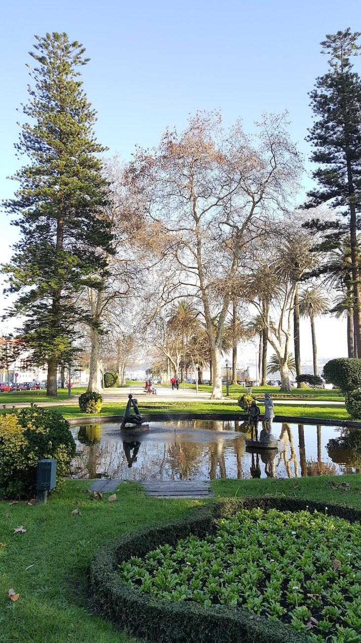 Lago no Jardim do Passeio Alegre © Viaje Comigo