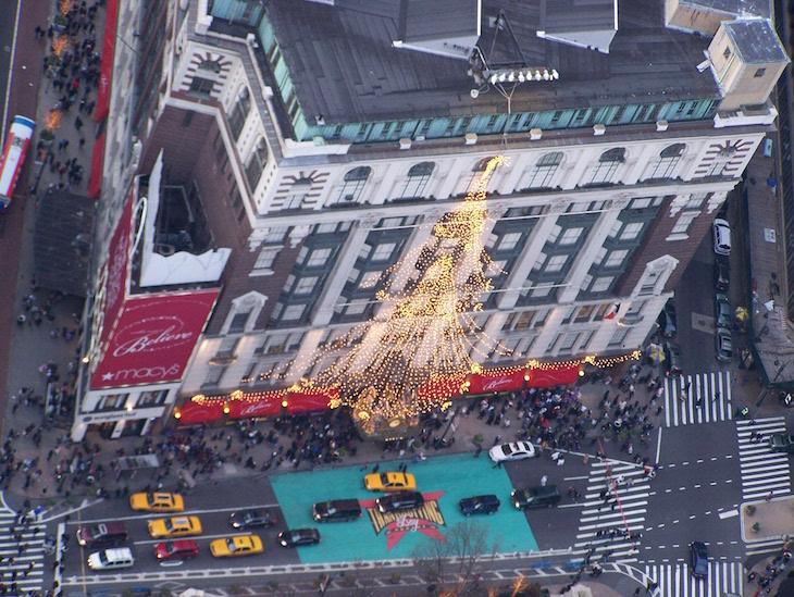 Macy's decorado no Natal, Nova Iorque © Viaje Comigo