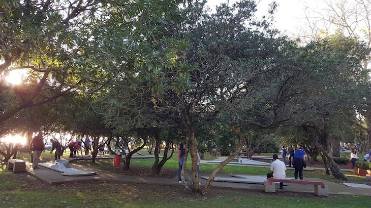 Minigolfe do Jardim do Passeio Alegre © Viaje Comigo