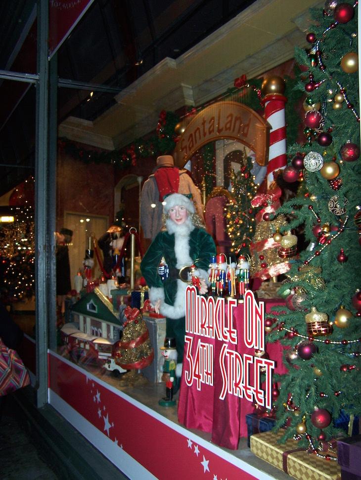 Montras de Natal em Nova Iorque © Viaje Comigo