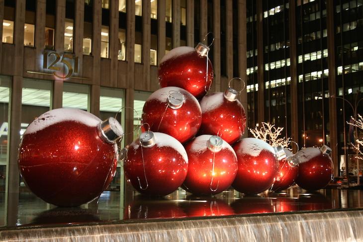 Decorações de Natal nas ruas de Nova Iorque © Viaje Comigo
