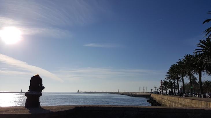 O mar ao lado do Jardim do Passeio Alegre © Viaje Comigo
