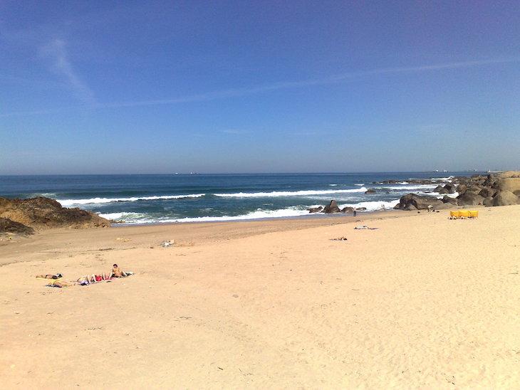 Praia das Pedras Amarelas - Vila Nova de Gaia © Viaje Comigo
