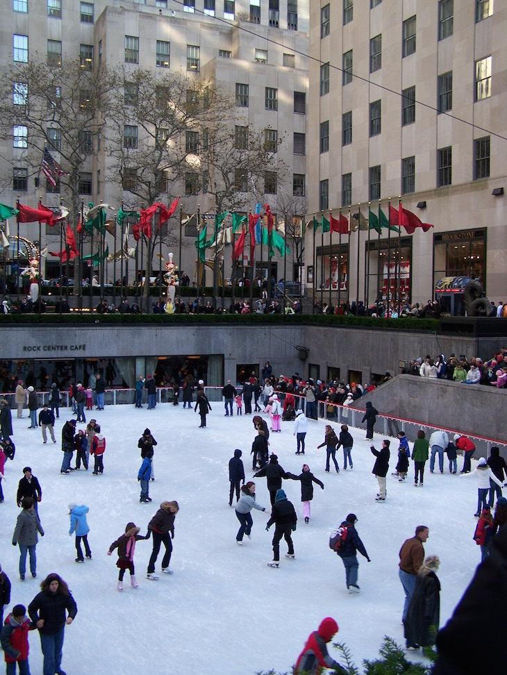 Pista do Rockefeller, Nova Iorque © Viaje Comigo