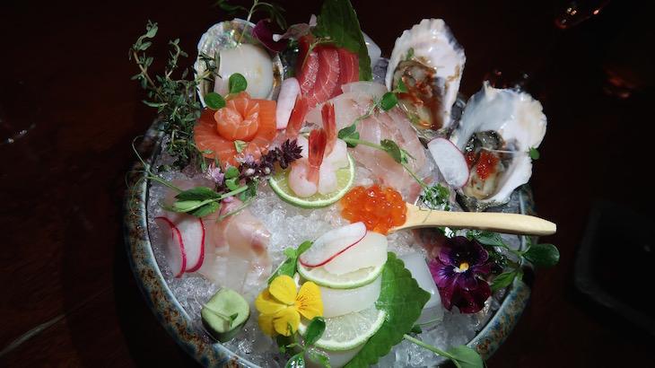 Taça de sashimi - Avenida SushiCafe Lisboa © Viaje Comigo