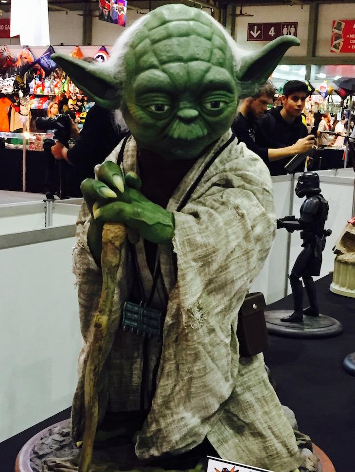 Comic Con Portugal 2015, figura do Yoda @ Viaje Comigo