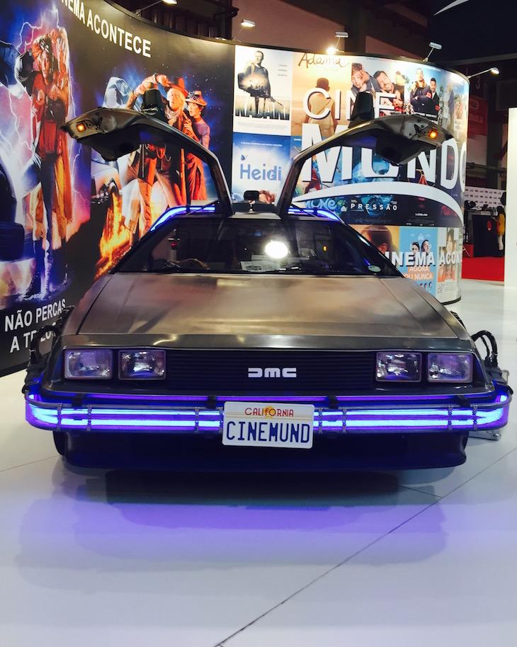 Comic Con Portugal 2015, DeLorean © Viaje Comigo