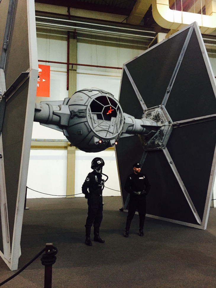 Comic Con Portugal 2015, Tie Fighter