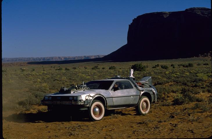 """DeLorean, carro do filme """"Regresso ao Futuro"""" - Comic Con"""