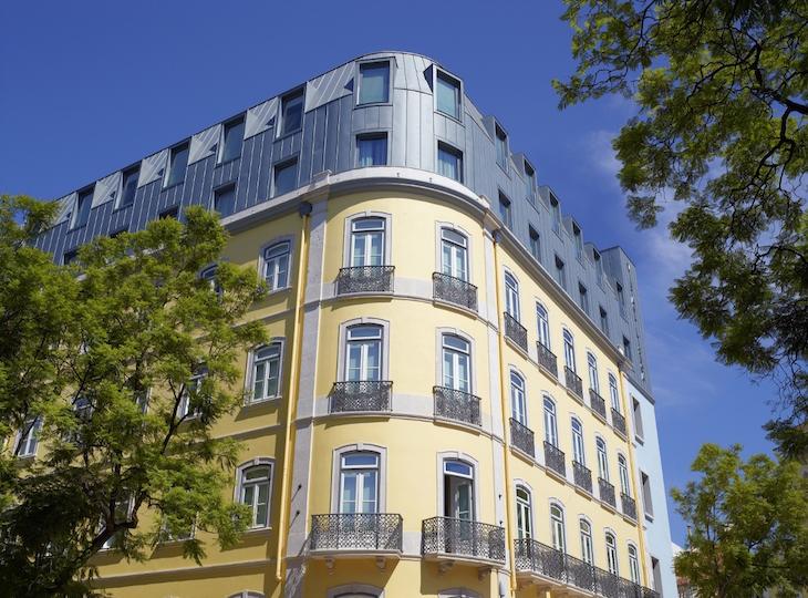 Fachada do Hotel Vintage House Lisboa DR