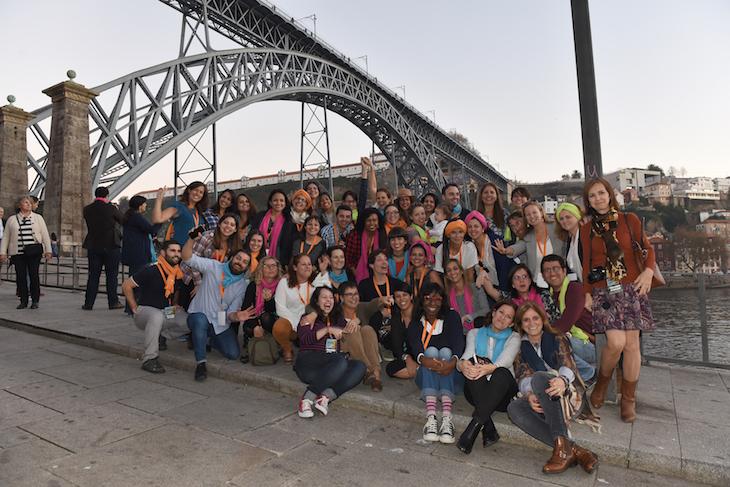 Grupo no Porto - IIEEBB Foto CC BY-NC-ND Associação de Turismo do Porto e Norte, AR_