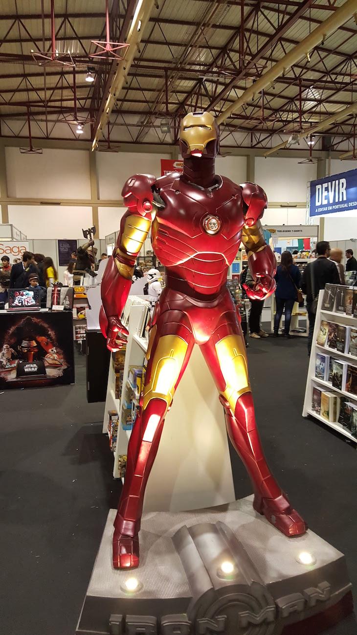 Iron Man no Comic Con Portugal © Viaje Comigo
