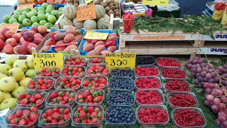 Mercado do Campo de Fiori © Viaje Comigo