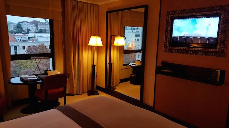 Quarto do Hotel Sofitel Lisbon Liberdade © Viaje Comigo