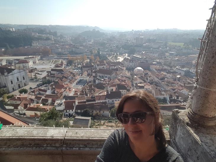 Susana no Castelo de Leiria © Viaje Comigo