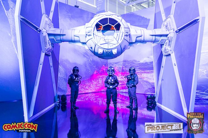 Tie Fighter, nave da saga Star Wars - Comic Con